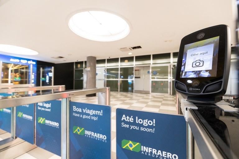 Brasil testa primeira ponte aérea com reconhecimento facial do mundo