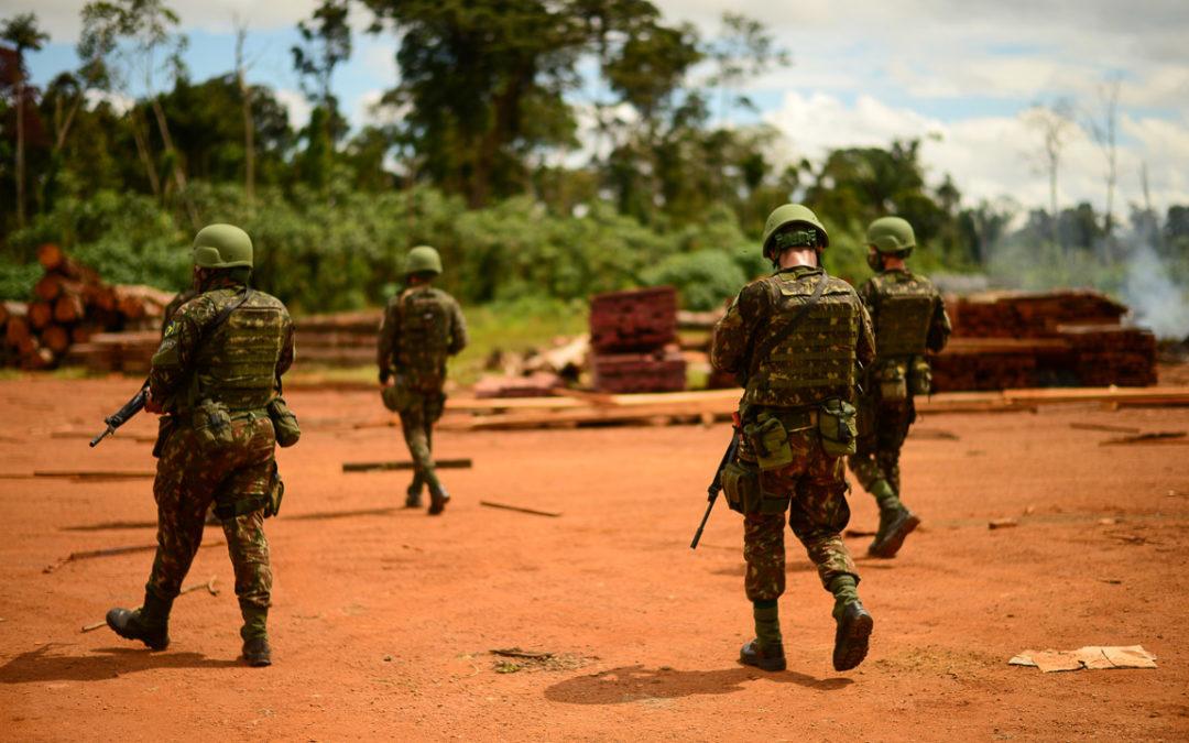Forças Armadas voltam a atuar na defesa da Amazônia