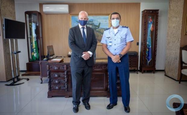 Reino Unido tem interesse em cooperação com a Força Aérea Brasileira