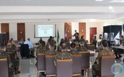 Exército coordena exercício de planejamento de Inteligência com EUA